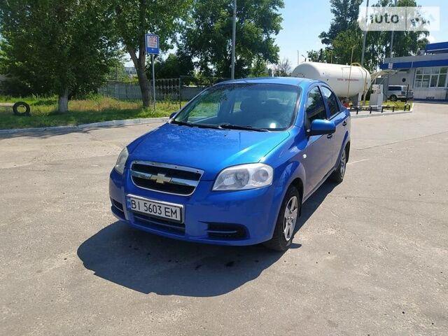 Синій Шевроле Авео, об'ємом двигуна 1.5 л та пробігом 260 тис. км за 4200 $, фото 1 на Automoto.ua