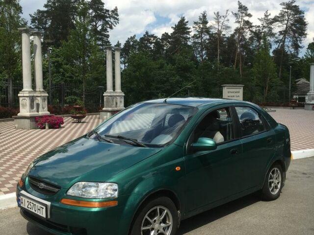 Зеленый Шевроле Авео, объемом двигателя 1.4 л и пробегом 70 тыс. км за 4000 $, фото 1 на Automoto.ua