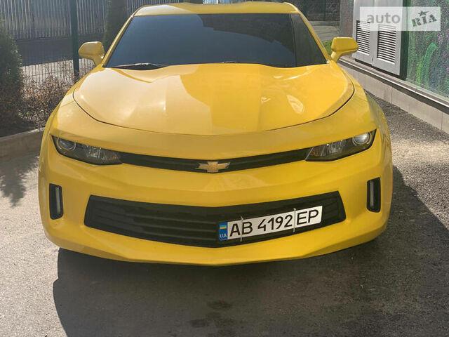 Оранжевый Шевроле Камаро, объемом двигателя 2 л и пробегом 19 тыс. км за 27000 $, фото 1 на Automoto.ua