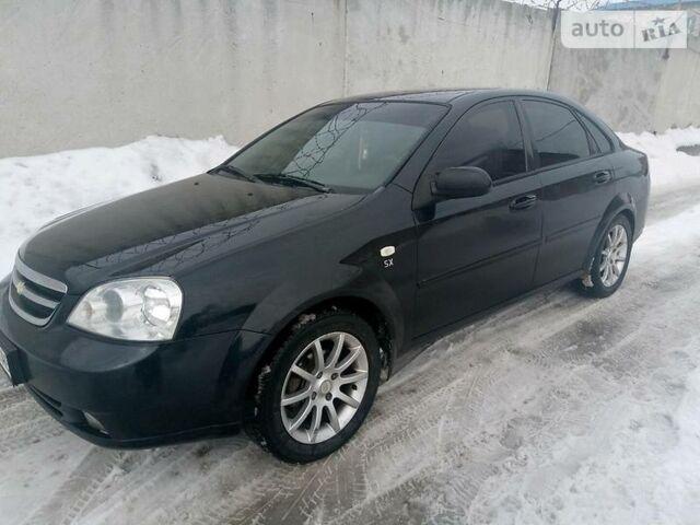 Черный Шевроле Лачетти, объемом двигателя 1.8 л и пробегом 160 тыс. км за 5999 $, фото 1 на Automoto.ua