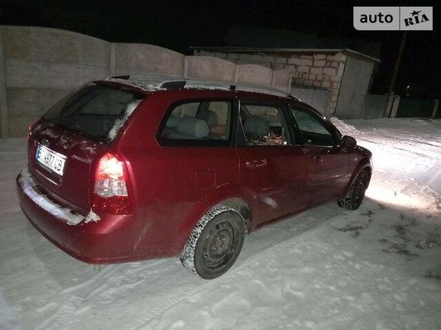 Красный Шевроле Нубира, объемом двигателя 1.8 л и пробегом 145 тыс. км за 4500 $, фото 1 на Automoto.ua