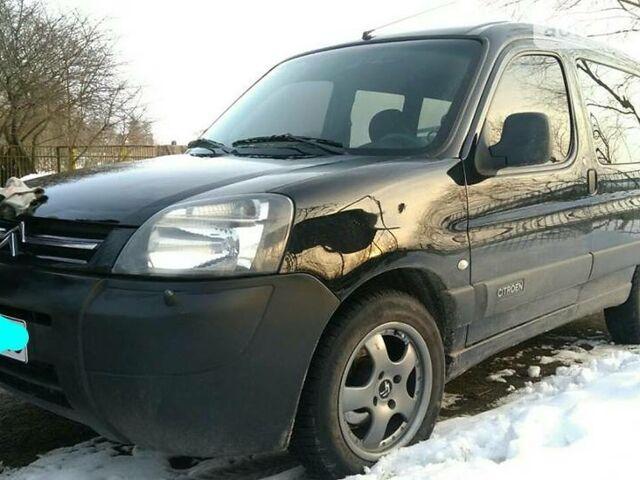 Черный Ситроен Берлинго пасс., объемом двигателя 1.6 л и пробегом 190 тыс. км за 6400 $, фото 1 на Automoto.ua