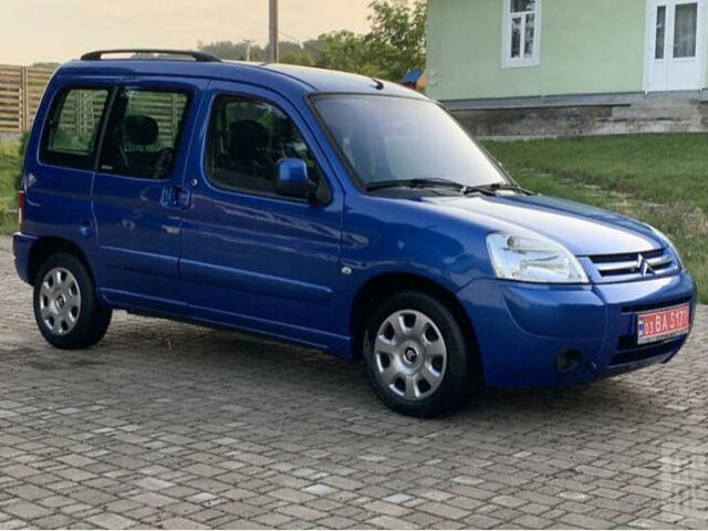 Синий Ситроен Берлинго пасс., объемом двигателя 1.6 л и пробегом 223 тыс. км за 5750 $, фото 1 на Automoto.ua