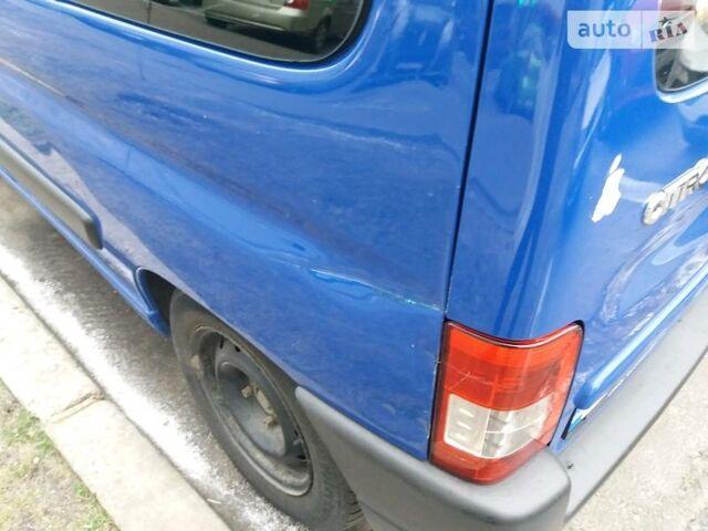 Синий Ситроен Берлинго пасс., объемом двигателя 1.9 л и пробегом 156 тыс. км за 6600 $, фото 1 на Automoto.ua