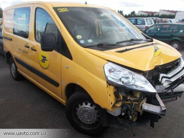 Желтый Ситроен Jumpy, объемом двигателя 2.5 л и пробегом 1 тыс. км за 0 $, фото 1 на Automoto.ua