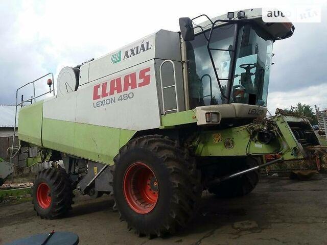 Зеленый Клаас Лексион, объемом двигателя 12 л и пробегом 3 тыс. км за 88000 $, фото 1 на Automoto.ua