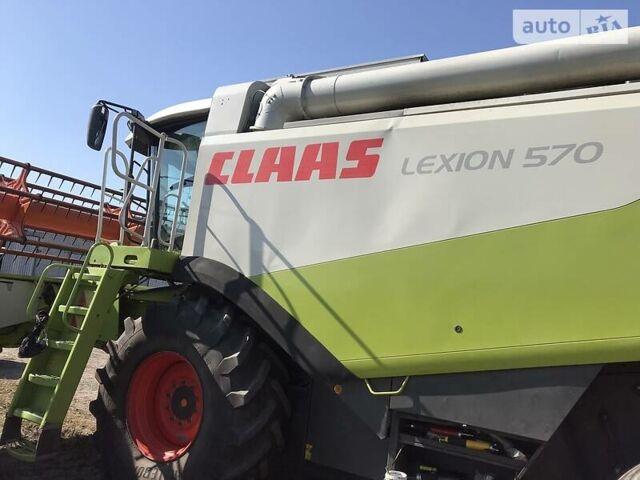 Зеленый Клаас Lexion 570, объемом двигателя 12 л и пробегом 7 тыс. км за 75000 $, фото 1 на Automoto.ua