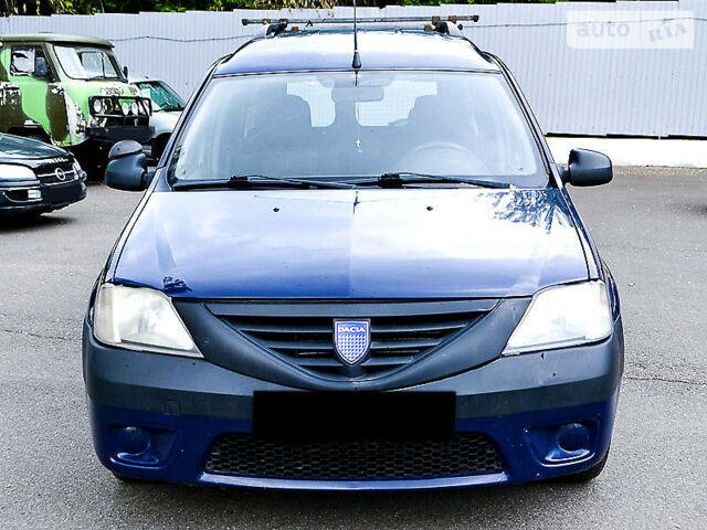 Синий Дачия Логан, объемом двигателя 1.6 л и пробегом 245 тыс. км за 5300 $, фото 1 на Automoto.ua