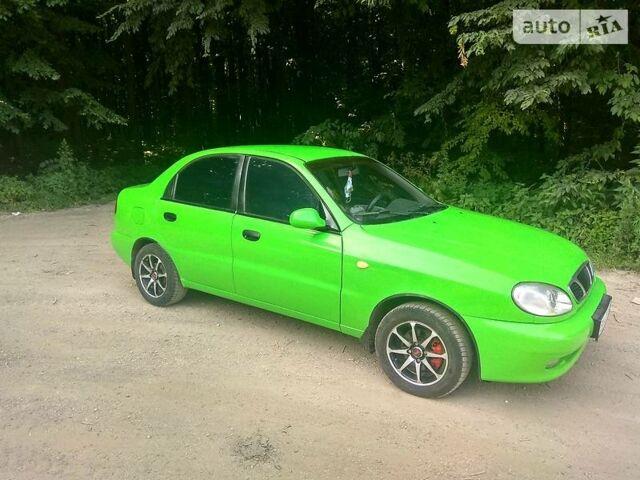 Зелений Деу Ланос, об'ємом двигуна 1.5 л та пробігом 250 тис. км за 2299 $, фото 1 на Automoto.ua