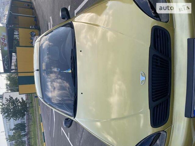 Зеленый Дэу Ланос, объемом двигателя 1.5 л и пробегом 175 тыс. км за 2900 $, фото 1 на Automoto.ua