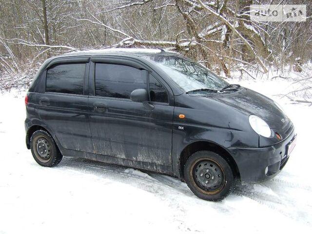 Черный Дэу Матиз, объемом двигателя 0.8 л и пробегом 112 тыс. км за 2200 $, фото 1 на Automoto.ua