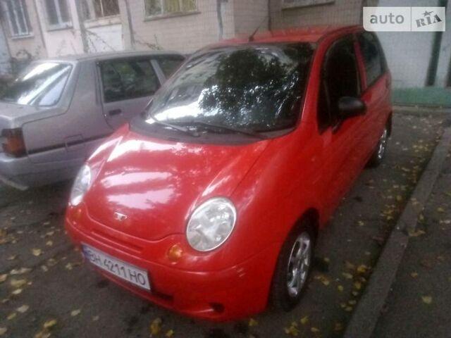 Красный Дэу Матиз, объемом двигателя 0.8 л и пробегом 83 тыс. км за 3000 $, фото 1 на Automoto.ua