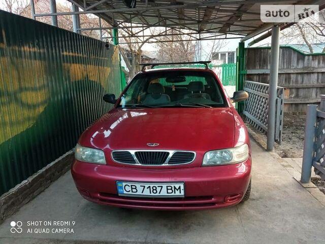 Красный Дэу Нубира, объемом двигателя 1.99 л и пробегом 222 тыс. км за 2200 $, фото 1 на Automoto.ua