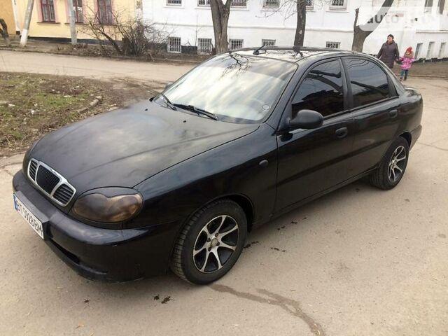 Черный Дэу Сенс, объемом двигателя 1.3 л и пробегом 185 тыс. км за 3000 $, фото 1 на Automoto.ua