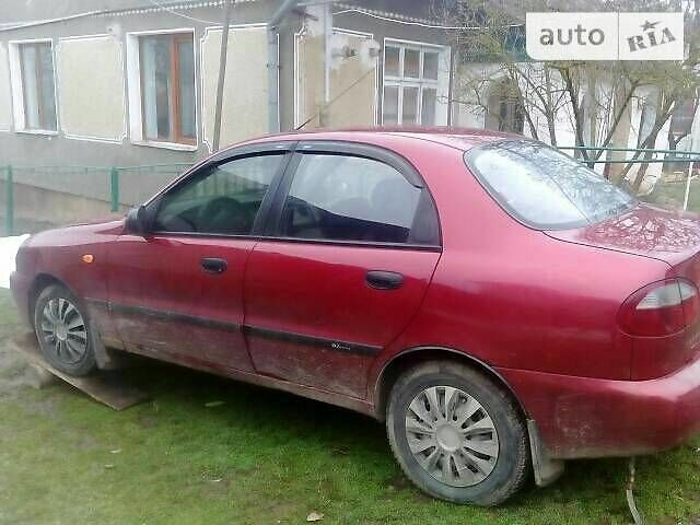 Красный Дэу Сенс, объемом двигателя 1.3 л и пробегом 185 тыс. км за 4000 $, фото 1 на Automoto.ua