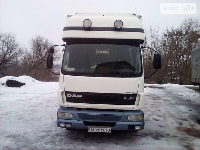 Белый Даф ЛФ, объемом двигателя 5.9 л и пробегом 650 тыс. км за 15500 $, фото 1 на Automoto.ua