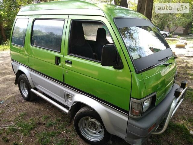 Зелений Дайхатсу Hijet, об'ємом двигуна 0.8 л та пробігом 71 тис. км за 2400 $, фото 1 на Automoto.ua