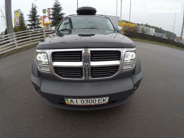 Черный Додж Нитро, объемом двигателя 2.8 л и пробегом 170 тыс. км за 14999 $, фото 1 на Automoto.ua