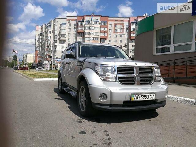 Серебряный Додж Нитро, объемом двигателя 2.8 л и пробегом 100 тыс. км за 13500 $, фото 1 на Automoto.ua