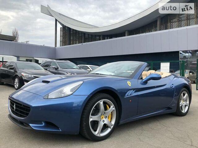 Синий Феррари Калифорния, объемом двигателя 4.3 л и пробегом 19 тыс. км за 119900 $, фото 1 на Automoto.ua