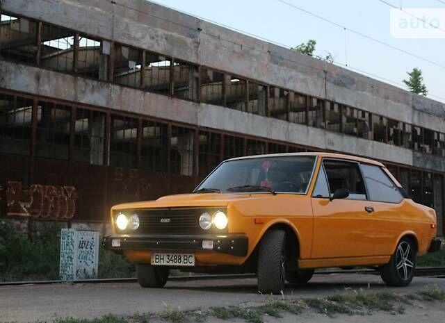 Оранжевый Фиат 131, объемом двигателя 2 л и пробегом 60 тыс. км за 2700 $, фото 1 на Automoto.ua