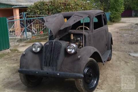 Черный Фиат 132, объемом двигателя 1.1 л и пробегом 10 тыс. км за 4000 $, фото 1 на Automoto.ua