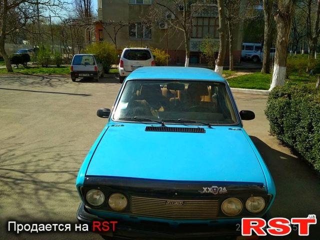 Голубой Фиат 132, объемом двигателя 2 л и пробегом 177 тыс. км за 1350 $, фото 1 на Automoto.ua