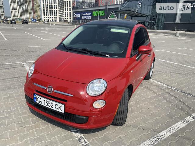 Красный Фиат 500, объемом двигателя 1.4 л и пробегом 143 тыс. км за 9500 $, фото 1 на Automoto.ua