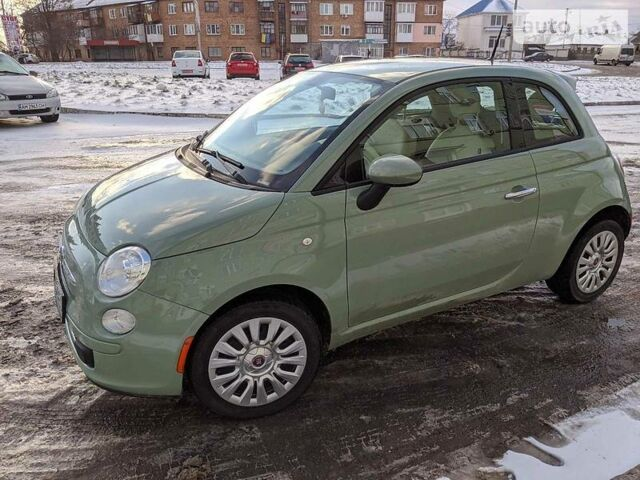 Зеленый Фиат 500, объемом двигателя 1.4 л и пробегом 150 тыс. км за 7700 $, фото 1 на Automoto.ua