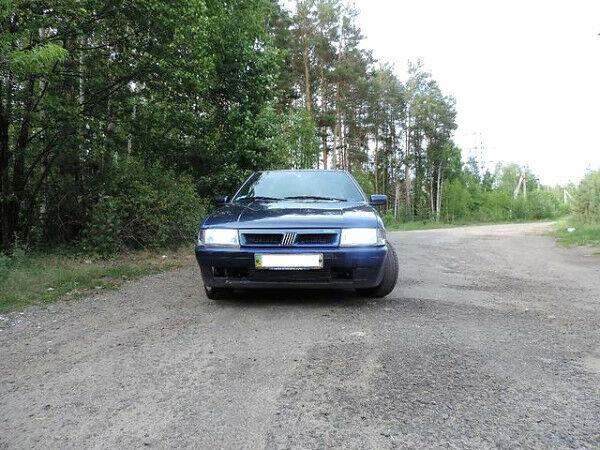 Синий Фиат Крома, объемом двигателя 2 л и пробегом 230 тыс. км за 2300 $, фото 1 на Automoto.ua