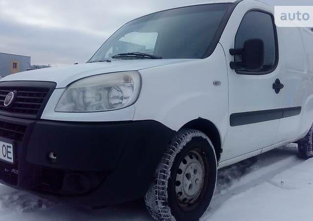 Білий Фіат Добло вант., об'ємом двигуна 1.3 л та пробігом 277 тис. км за 4999 $, фото 1 на Automoto.ua