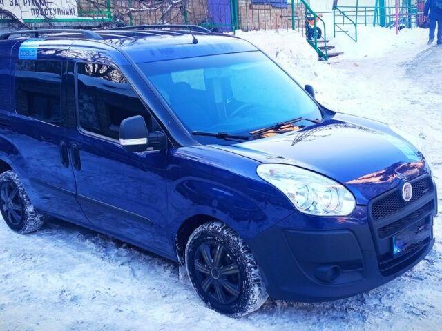 Синий Фиат Добло груз., объемом двигателя 1.3 л и пробегом 185 тыс. км за 6800 $, фото 1 на Automoto.ua