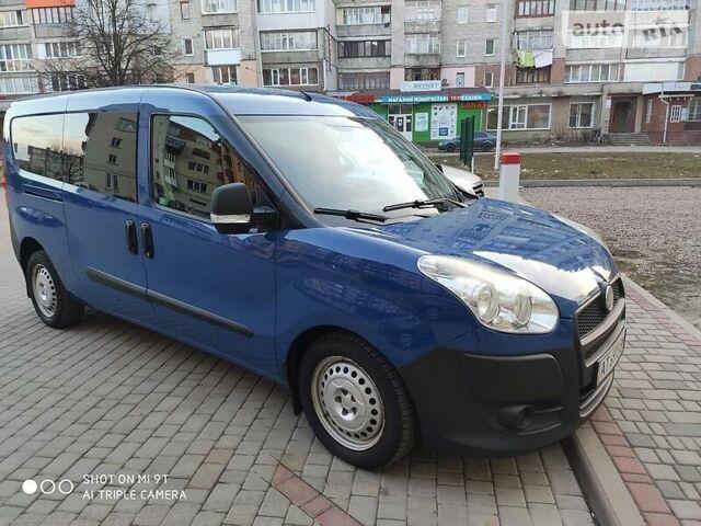 Синий Фиат Добло пасс., объемом двигателя 1.6 л и пробегом 220 тыс. км за 7700 $, фото 1 на Automoto.ua