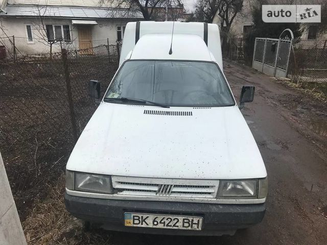 Білий Фіат Фіоріно вант., об'ємом двигуна 1.4 л та пробігом 156 тис. км за 1300 $, фото 1 на Automoto.ua
