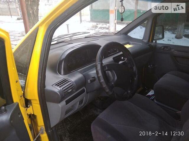 Желтый Фиат Скудо пасс., объемом двигателя 2 л и пробегом 386 тыс. км за 5500 $, фото 1 на Automoto.ua