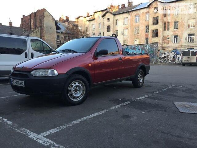 Красный Фиат Страда, объемом двигателя 1.24 л и пробегом 38 тыс. км за 4300 $, фото 1 на Automoto.ua