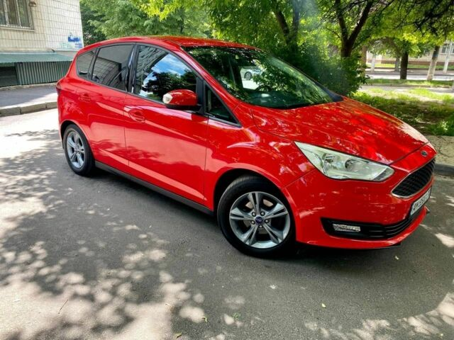 Красный Форд Си-Макс, объемом двигателя 1.5 л и пробегом 50 тыс. км за 12000 $, фото 1 на Automoto.ua