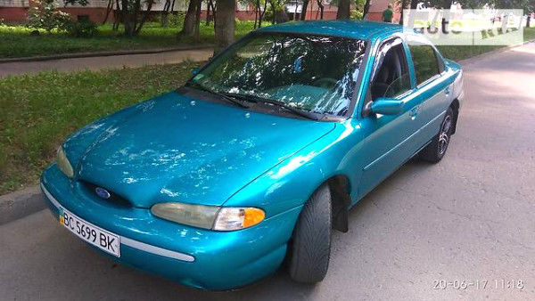 Синій Форд Контур, об'ємом двигуна 2 л та пробігом 210 тис. км за 2300 $, фото 1 на Automoto.ua