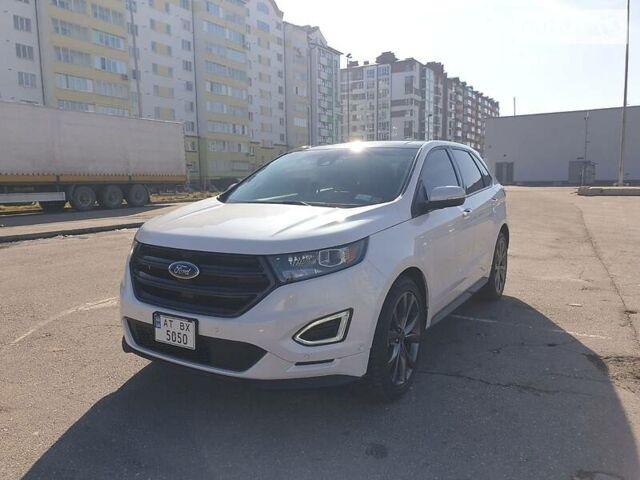 Белый Форд Эдж, объемом двигателя 2.7 л и пробегом 20 тыс. км за 30500 $, фото 1 на Automoto.ua