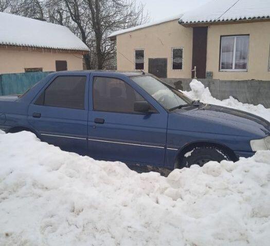 Синій Форд Ескорт, об'ємом двигуна 1.4 л та пробігом 300 тис. км за 2500 $, фото 1 на Automoto.ua
