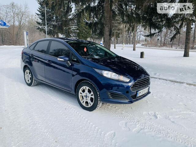Синий Форд Фиеста, объемом двигателя 1.6 л и пробегом 131 тыс. км за 8500 $, фото 1 на Automoto.ua