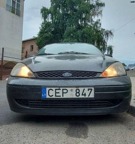 Чорний Форд Фокус, об'ємом двигуна 2 л та пробігом 134 тис. км за 1350 $, фото 1 на Automoto.ua
