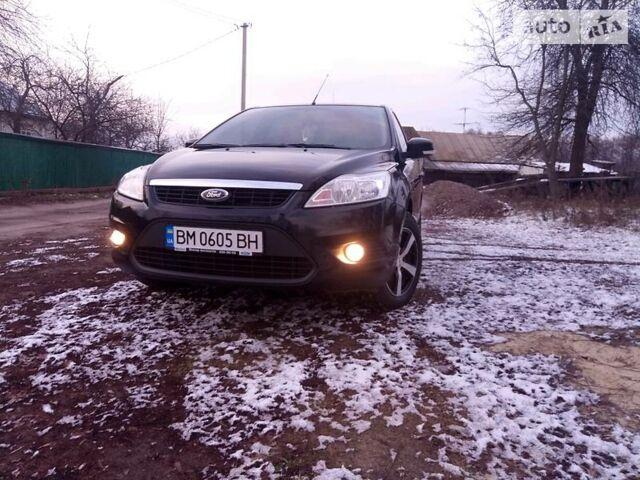 Черный Форд Фокус, объемом двигателя 1.6 л и пробегом 72 тыс. км за 9800 $, фото 1 на Automoto.ua