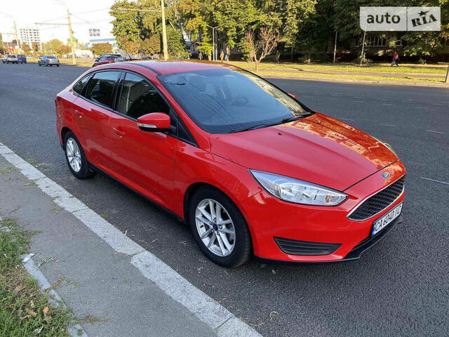 Красный Форд Фокус, объемом двигателя 2 л и пробегом 206 тыс. км за 8550 $, фото 1 на Automoto.ua