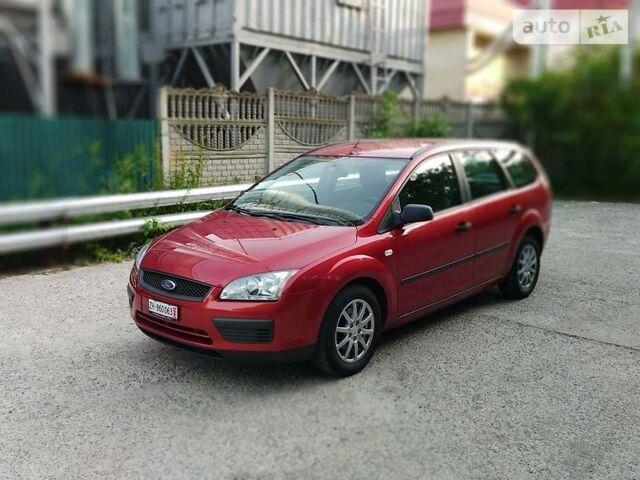 Червоний Форд Фокус, об'ємом двигуна 1.6 л та пробігом 210 тис. км за 4800 $, фото 1 на Automoto.ua