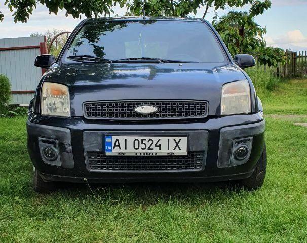 Черный Форд Фьюжн, объемом двигателя 1.6 л и пробегом 227 тыс. км за 4900 $, фото 1 на Automoto.ua