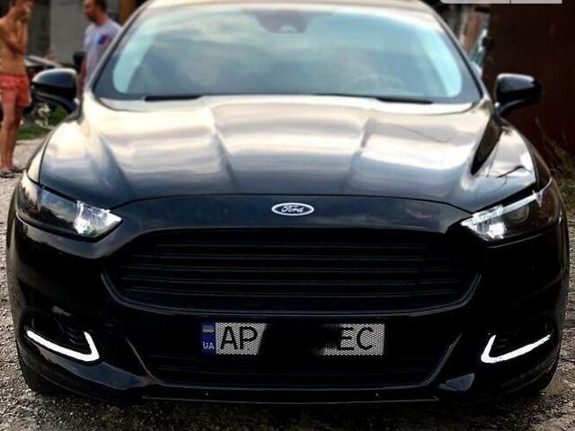 Черный Форд Фьюжн, объемом двигателя 2 л и пробегом 123 тыс. км за 11100 $, фото 1 на Automoto.ua