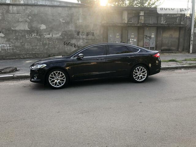 Черный Форд Фьюжн, объемом двигателя 2 л и пробегом 147 тыс. км за 14100 $, фото 1 на Automoto.ua