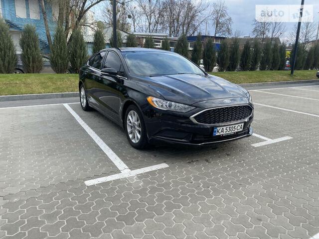 Черный Форд Фьюжн, объемом двигателя 2.5 л и пробегом 95 тыс. км за 15300 $, фото 1 на Automoto.ua