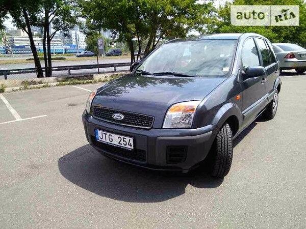 Черный Форд Фьюжн, объемом двигателя 1.4 л и пробегом 200 тыс. км за 3900 $, фото 1 на Automoto.ua